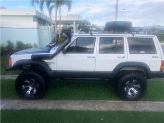Jeep Puerto Rico Jeep, Cherokee 1988