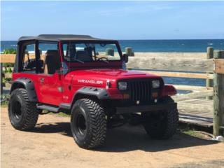Jeep Puerto Rico Jeep, Wrangler 1993