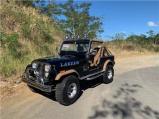 Jeep Puerto Rico Jeep, Jeep CJ 1981