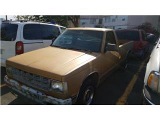 Chevrolet Puerto Rico Chevrolet, Chevrolet S10 Pickup 1984
