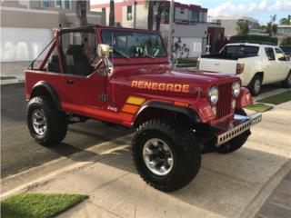 Jeep, Jeep CJ 1984  Puerto Rico