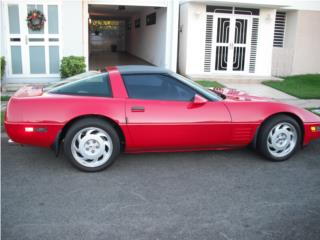 Chevrolet Puerto Rico Chevrolet, Corvette 1991