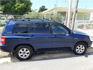 Toyota, Highlander 2003, Camry Puerto Rico