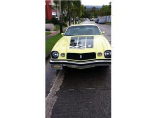 Chevrolet Puerto Rico Chevrolet, Camaro 1974