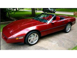 Chevrolet Puerto Rico Chevrolet, Corvette 1988
