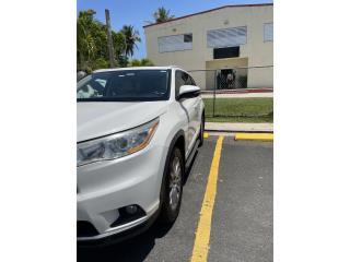 TOYOTA HIGHLANDER XLE 2017 , Toyota Puerto Rico