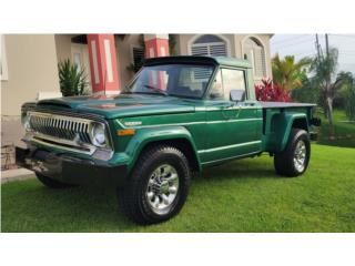 Jeep Puerto Rico Jeep, Willys 1972