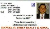 MANUEL M PEREZ REALTY & ASSOC.