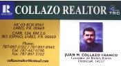 COLLAZO REALTOR # LIC. 14551