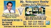MR VELAZQUEZ REALTY