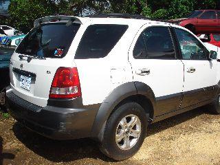 KIa sorrento EX 2004 Puerto Rico JUNKER 3000