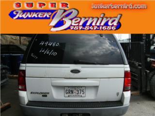 8239 FORD EXPLORER 2002 DIFERENCIAL TRAS OEM Puerto Rico JUNKER BERNIRD