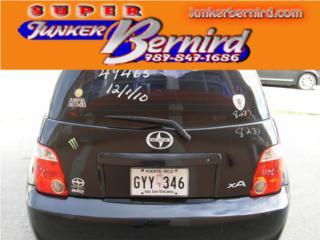 8237 SCION XA 2006 TAPA BAUL OEM Puerto Rico JUNKER BERNIRD