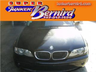8245 BMW 3 SERIES 2002 CRISTAL DEL OEM Puerto Rico JUNKER BERNIRD