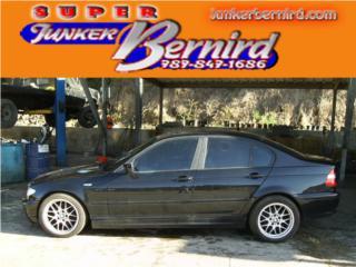 8245 BMW 3 SERIES 2002 CRISTAL IZQ TRAS OEM Puerto Rico JUNKER BERNIRD