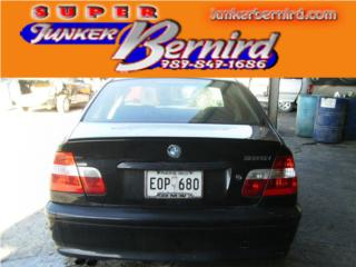 8245 BMW 3 SERIES 2002 CRISTAL TRAS OEM Puerto Rico JUNKER BERNIRD