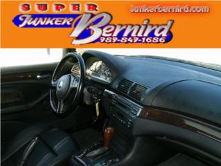 8245 BMW 3 SERIES 2002 SRS PASAJERO OEM Puerto Rico JUNKER BERNIRD