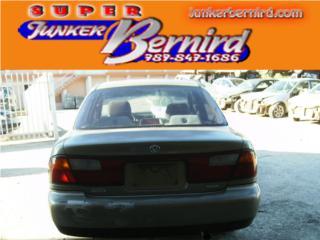 8241 MAZDA PROTEGE 1997 CRISTAL TRAS OEM Puerto Rico JUNKER BERNIRD