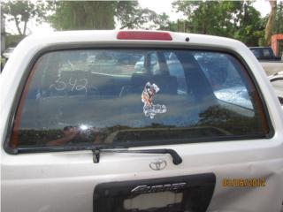 342 TOYOTA 4RUNNER 1997 CRISTAL TRAS OEM Puerto Rico JUNKER EL 35