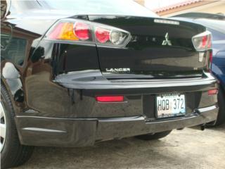 Extencion trecera tip EVO Lancer 2008-2013 Puerto Rico Raymonds Fiberglass