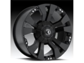 Aros RACELINE Negros Para Jeep Puerto Rico Custom Dream 4 x 4