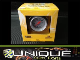 Autometer Reloj de Boost 0-35 PSI Pression Puerto Rico UNIQUE AUTO PARTS