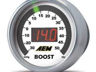 AEM Digital Bost Gauge Puerto Rico Speed Performance