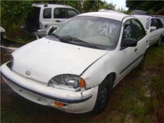Chevrolet Geo 1990 al 1997 en piezas Puerto Rico Junker Most Wanted