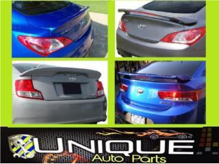 Spoiler Genesis / Scion TC / Kia Forte Puerto Rico UNIQUE AUTO PARTS