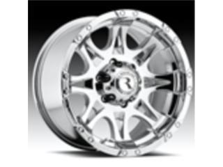 Aros Cromados RACELINE para jeep y 4x4  Puerto Rico Custom Dream 4 x 4