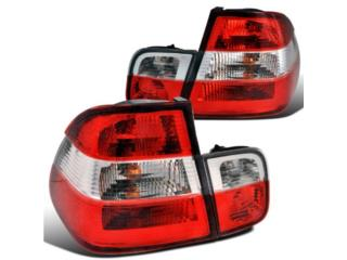 FOCOS BMW E46 COUPE 99 01 TRASEROS RED/CLEAR Puerto Rico JDM AUTOLUMINATE
