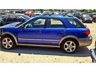 SUBARU IMPREZA SPORT OUTBACK 2004 EN PIEZAS (IMP) Puerto Rico La Villa Body Parts, Corp.