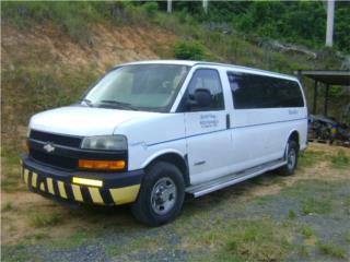 Chevrolet Express 3500 00 al 10 puertas Puerto Rico Junker Most Wanted