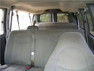 Chevrolet Express 3500 00 al 10 interiores Puerto Rico Junker Most Wanted