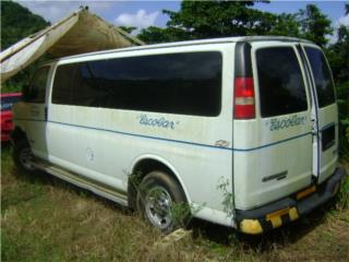 Chevrolet Express 3500 en piezas Puerto Rico Junker Most Wanted