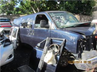 CHEVROLET  EXPRESS CARGO V6 4.3L  Puerto Rico JUNKER CANDELARIA