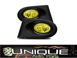 Fog Lamp Set Acura RSX 02-04 Amber Puerto Rico UNIQUE AUTO PARTS