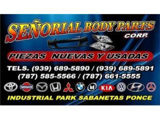 TOYOTA COROLLA 03-08 MOTORES  Puerto Rico SE�ORIAL BODY PARTS, CORP