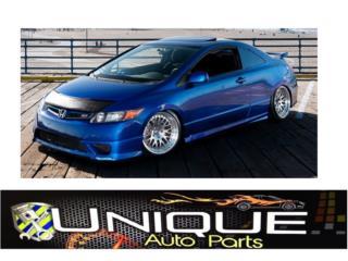 Body Kit Civic 2DR 06-08 Coupe Puerto Rico UNIQUE AUTO PARTS