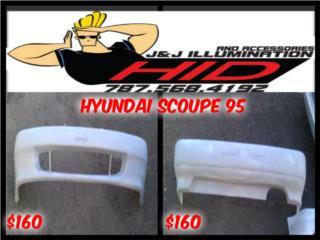 BUMPER HYUNDAI SCOUPE 91-95 ESPECIAL $150 Puerto Rico JJ illumination and Accessories