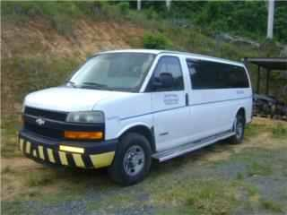 Chevrolet Express 3500 2001 2002 2003 2004 Puerto Rico Junker Most Wanted