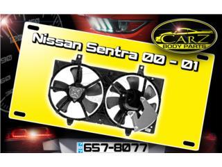 ABANICOS Nissan SENTRA 2000 - 2006 (1.8L) Puerto Rico CARZ Body Parts