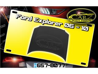 BONETE Ford EXPLORER 2006 - 2010 Puerto Rico CARZ Body Parts