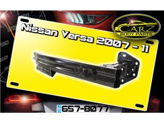 BARRA de BUMPER Nissan VERSA 2007 - 2011 Puerto Rico CARZ Body Parts