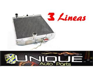 Radiador Alumunio Racing 3 Lineas Puerto Rico UNIQUE AUTO PARTS