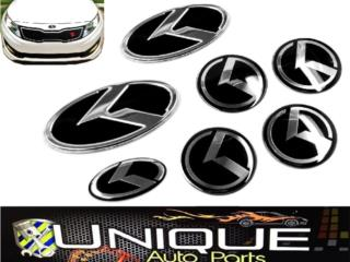 Emblemas Kia Optima 11-14 Koreano 7pcs Puerto Rico UNIQUE AUTO PARTS