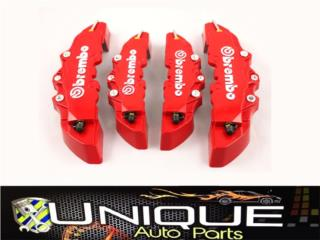 Set Cover Brembo 4PCS 3D Puerto Rico UNIQUE AUTO PARTS