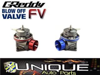 Blow Tipo Greddy FV 38MM  Azul o Rojo Puerto Rico UNIQUE AUTO PARTS