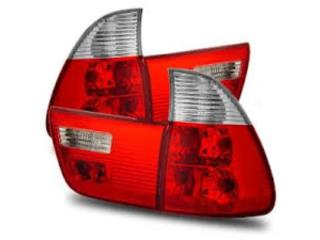 BMW X5 00 06 FOCOS TRASEROS RED/CLEAR OEM Puerto Rico JDM AUTOLUMINATE