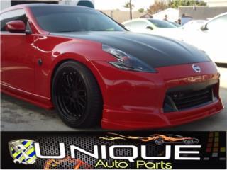 Front Lip Nissan 370Z 2009-2012 Puerto Rico UNIQUE AUTO PARTS